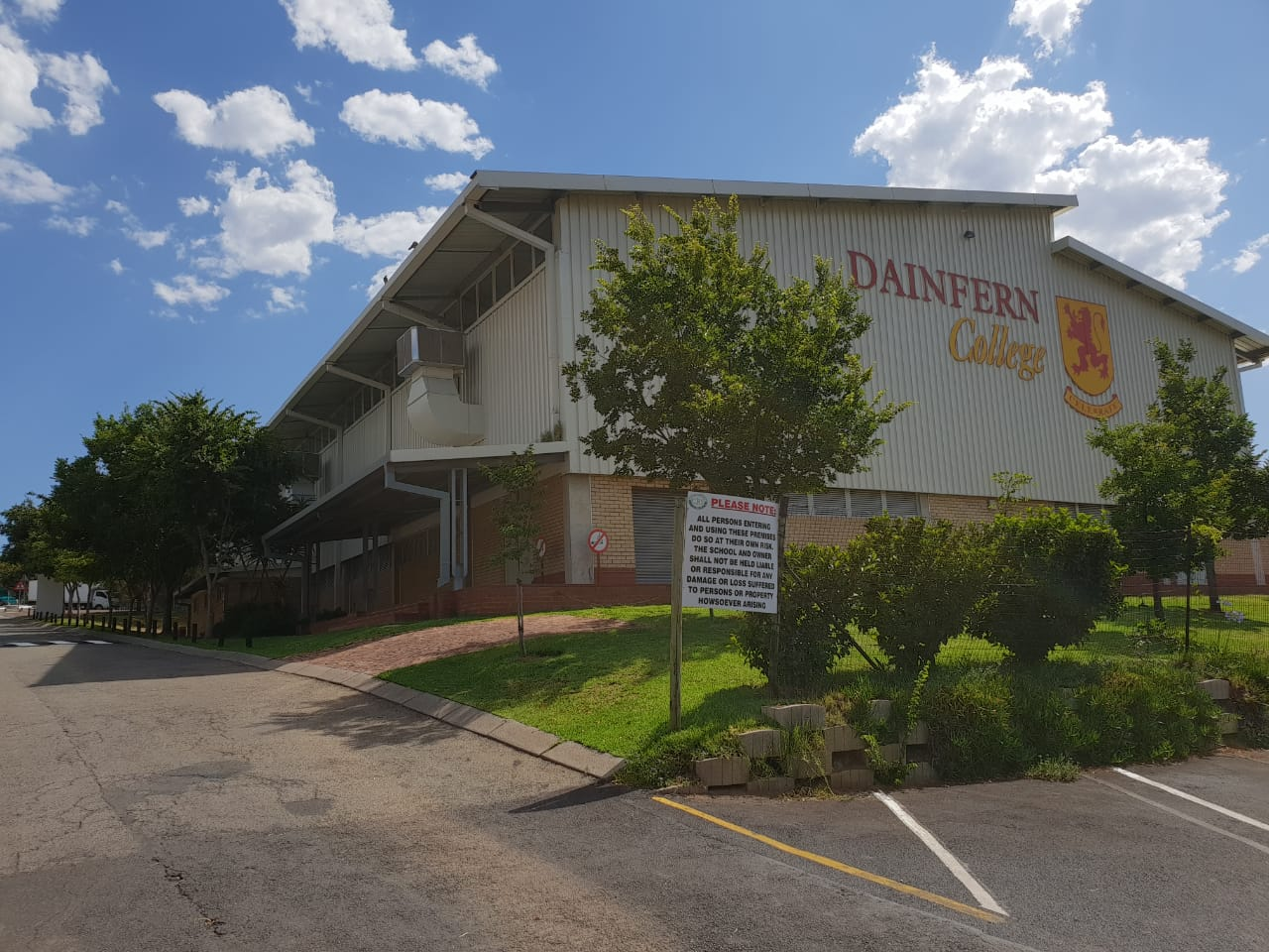 Dainfern College evaporative cooling 1